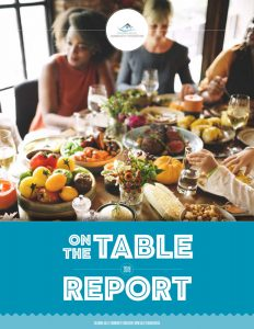 Columbia Valley Community Foundation - On The Table Report 2019